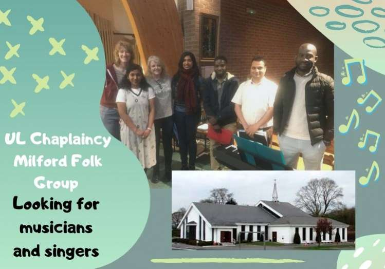 UL Chaplaincy Milford Folk Group 2019/20