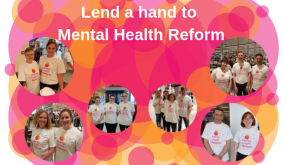 Lend a hand to Mental Health Reform