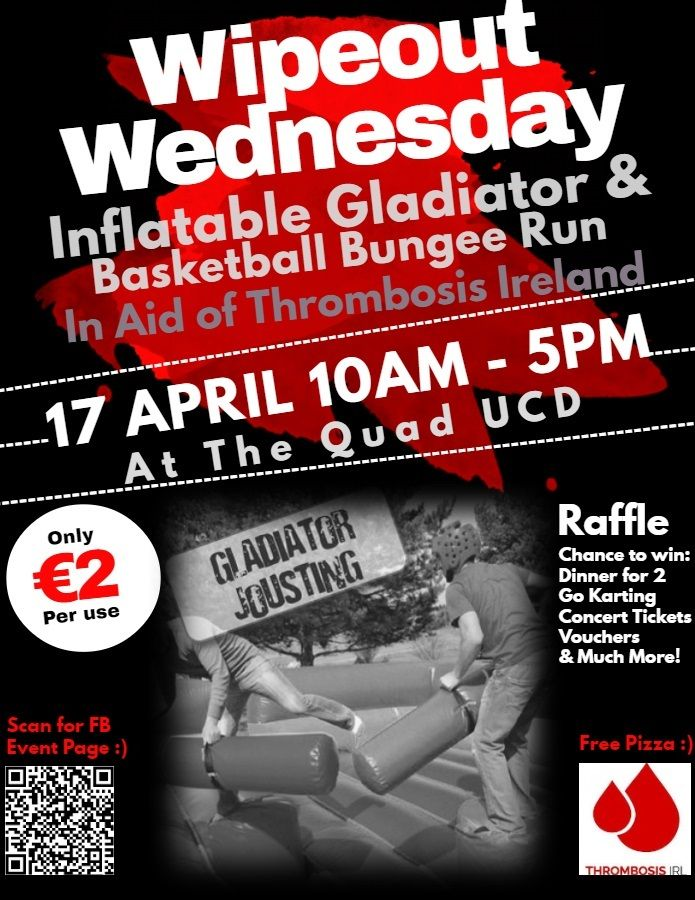 Wednesday Wipeout UCD Student Fun Day
