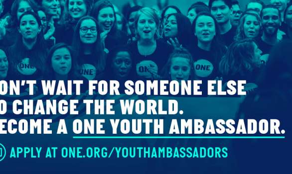 Become a ONE Youth Ambassador