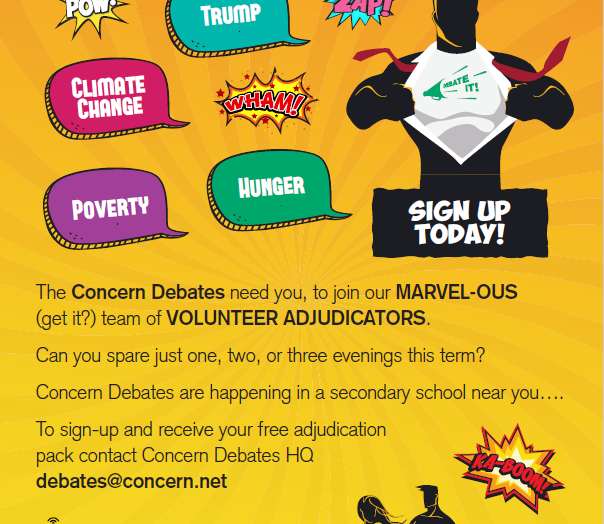 Concern Worldwide Student Volunteer