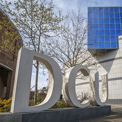 DCU Sign