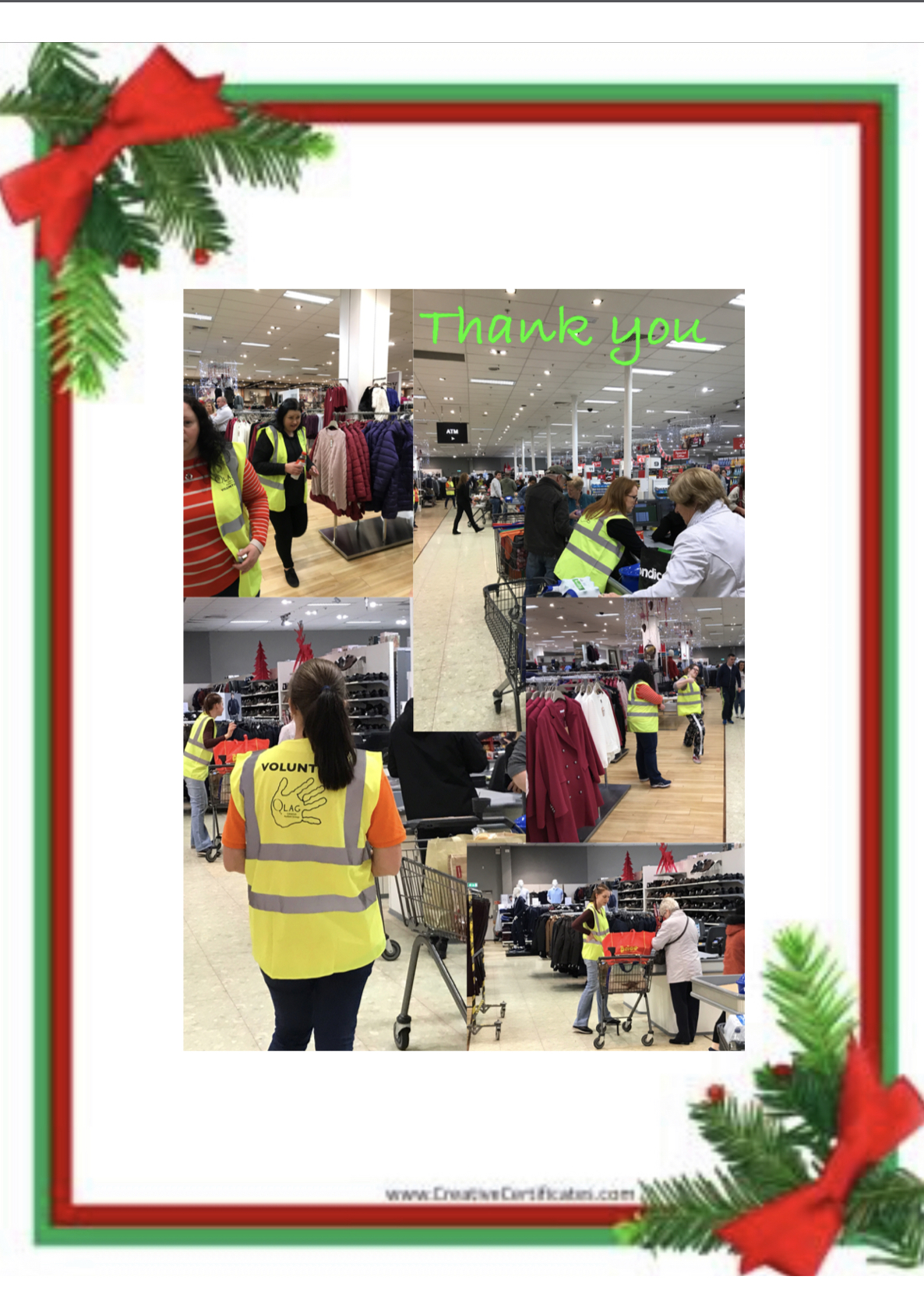 Fundraising Event- Bag packing