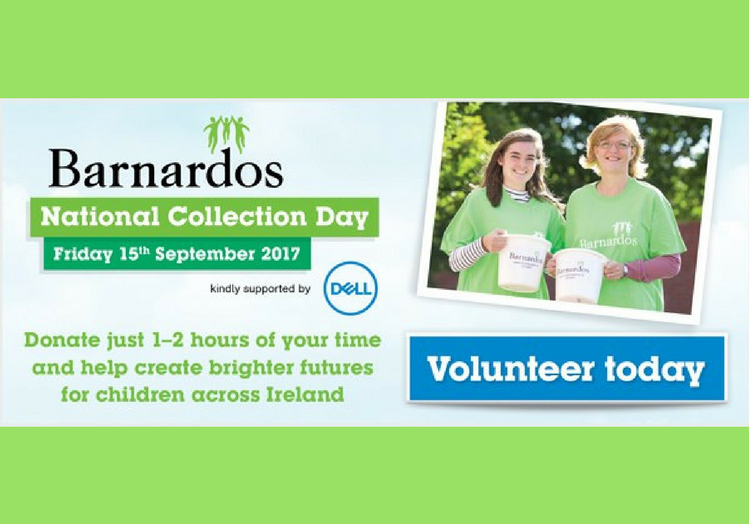 Volunteer Team Leader – Barnardos National Collection Day - Fri, 15 Sept 2017