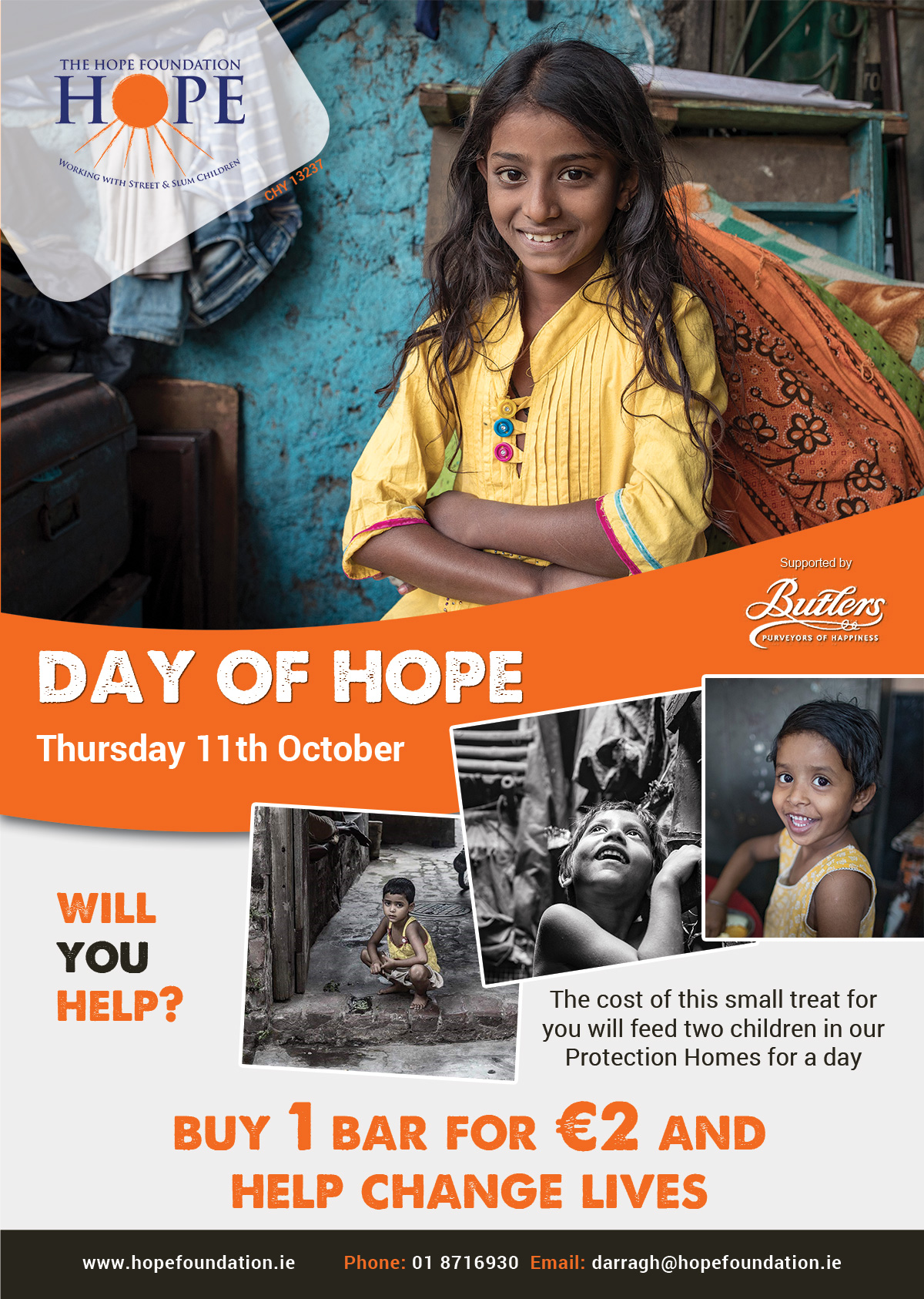 Day of HOPE Volunteer Collector