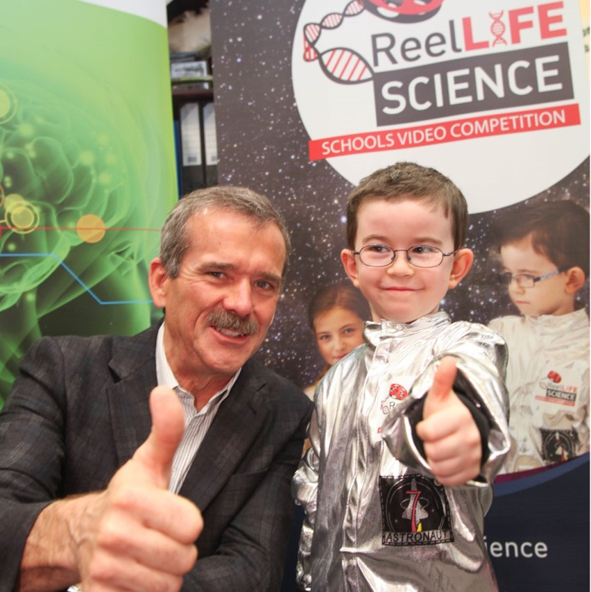 Promote STEM to young people with ReelLIFE SCIENCE!