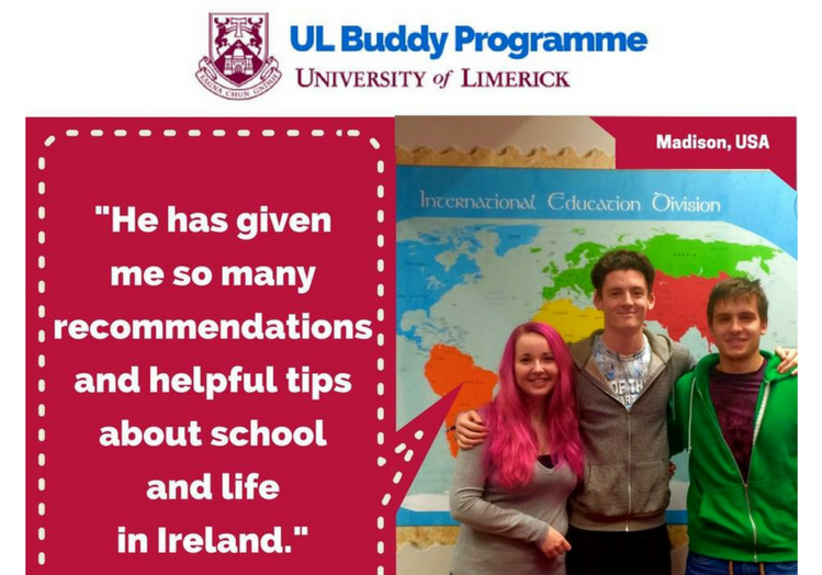 UL Buddy Programme Autumn 2018
