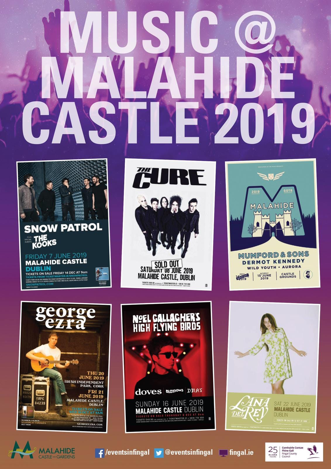Events Volunteers at Malahide Castle Concerts 2019